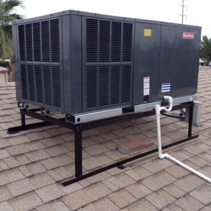 Goodman 4 Ton Horizontal Package Heat Pump Gph1448h41