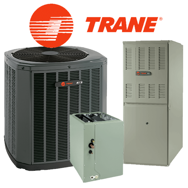 Trane 2 5 Ton Vertical Gas Split Xr14 Xb80 Series Furnace 14 Seer 12 2 Eer Installation Included Ac For Less