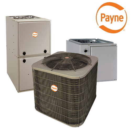 Payne (14 5 SEER 12 2 EER) 2 5 Ton Vertical Split System Air Conditioning  With Gas Furnace *INSTALLED*